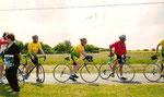 En route pour Sagonne 150 km