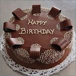 Schokoladen Geburtstagstorte