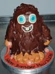 Schokoladen Geburtstagstorte - Moshi Monster