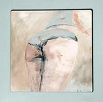 Entzückende Hülle, 2017, Acryl 30 x 30 , 300 €, Andrea Meßmer