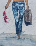 """my way"", 1,20 x 1,50, Acryl, Andrea Meßmer; 1080 €"