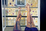 beautiful feeling, Acrylbild 80 x 120 , Andrea Meßmer