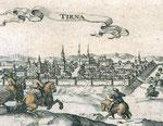 Tyrnau, einer Stadt nahe Bratislava, war das Standquartier des Herzogs.