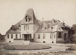 Das Pinnower Gutshaus um 1880