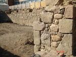 Grundmauern des alten Schohus