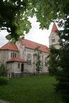 Parallel zum Chausseebau entstand in Friedland Salower Straße die katholische Kirche St. Norbert.