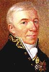 Georgs August Adjutant, Joseph von Berlichingen, verhandelte mit Pfalz-Bayern über die Hochzeit von Georg August mit der unehelichen Tochter des Kurfsürsten.