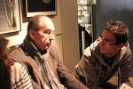 Florian Durand discute avec son professeur de Lettres