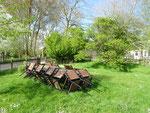 le jardin les Mollières Ferme Relais de la Baie de Somme gîtes de groupe baie de somme