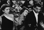 with Barbara Vance and Cary Grant