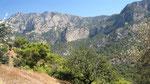 View towards Alinca, Kabak (Where ist the Lycian Way?)