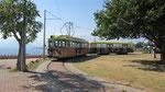 Old tram from Nuremberg running today in Antalya