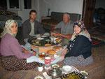 Dinner, Hüseyin's Place, Saribelen