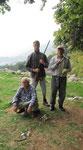 Hunters at Yayla above Beycik