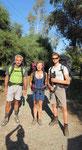 Tobias, Claudia and me heading for Antalya