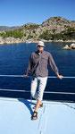 Me on boat trip, Ücagiz