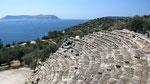 Ancient theatre, Kas