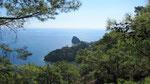Coast between Cirali and Tekirova
