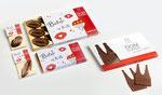 Individuelle Packungen z. B. DOM Schokolade