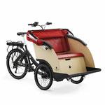 Triobike Taxi Senioren und Menschen mit Behinderung befördern Lasten e-Bike 2019
