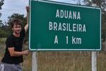 Grenze zwischen Uruguay und Brasilien (Chuy)