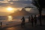 Rio de Janeiro, Strand von Ipanema