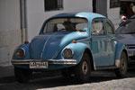 ein hellblauer VW-Kaefer!!! (Was macht eigentlich mein Bluemchen-Polo? ;)