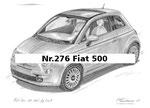 Nr.276 Fiat 500