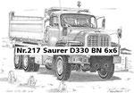 Nr.217 Saurer D330 BN 6x6