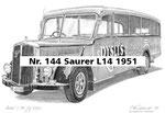 Nr. 144 Saurer L14 1951