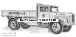 Nr.73 Saurer 5 BLD 1930