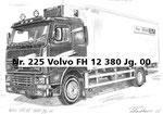 Nr. 225 Volvo FH 12 380 Jg. 00