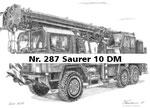 Nr. 287 Saurer 10 DM