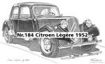 Nr.184 Citroen Lègére 1952