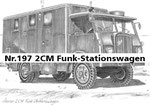 Nr.197 2CM Funk-Stationswagen