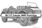 Nr.117 Saurer 4MH Prototyp