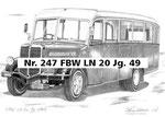 Nr. 247 FBW LN 20 Jg. 49