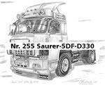 Nr. 255 Saurer-5DF-D330