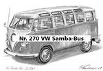 Nr. 270 VW Samba-Bus