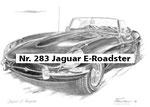 Nr. 283 Jaguar E-Roadster