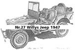 Nr.27 Willys Jeep 1947