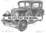Nr.275 Fiat 508 Balilla