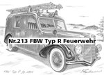 Nr.213 FBW Typ R Feuerwehr