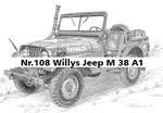 Nr.108 Willys Jeep M 38 A1