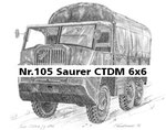 Nr.105 Saurer CTDM 6x6