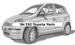 Nr.192 Toyota Yaris