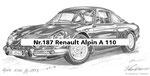 Nr.187 Renault Alpin A 110