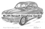 Nr.295 Renault Dauphine Gardini