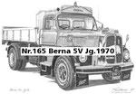 Nr.165 Berna 5V Jg.1970