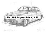 Nr. 297 Jaguar MK2, 3.8L